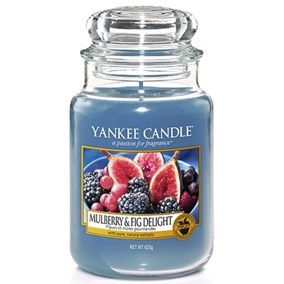 Mulberry & Fig Delight - Yankee Candle Large Jar