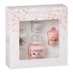 1 Small Jar & 3 Votives - Yankee Candle Mother's Day Gift Set