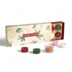 10 Tea Light - Yankee Candle Christmas Gift Set 2020 Candlemania outofbox