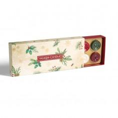 10 Tea Light - Yankee Candle Christmas Gift Set 2020 Candlemania