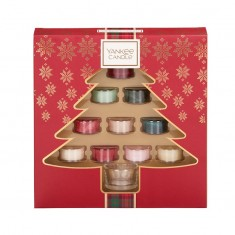 10 Tea Lights - Yankee Candle Christmas Gift Set 2019 Candlemania