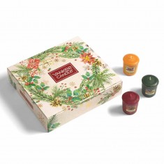 12 Votives Book - Yankee Candle Christmas Gift Set 2020 Candlemania outofbox