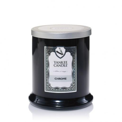 yankee candles chrome