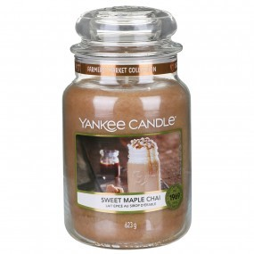 Sweet Maple Chai - Yankee Candle Large Jar