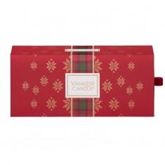 3 Small Jars - Yankee Candle Christmas Gift Set 2019 Candlemania