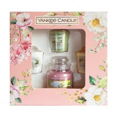 3 Votives And Small Jar - Yankee Candle Gift Set SS20 front