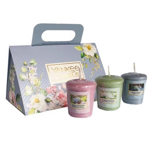 3 Votives - Yankee Candle Gift Set angle