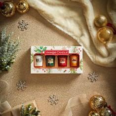 4 Votives - Yankee Candle Christmas Gift Set 2020 Candlemania Lifestyle