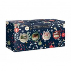 4 Votives - Yankee Candle Christmas Gift Set