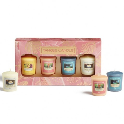 4 Votives Yankee Candle Gift Set SS21