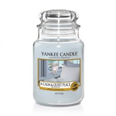 A Calm & Quiet Place - Yankee Candle Large Jar
