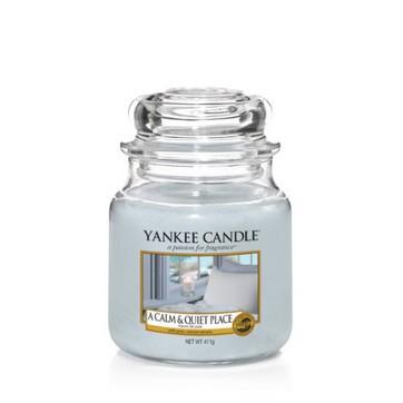 A Calm & Quiet Place - Yankee Candle Medium Jar