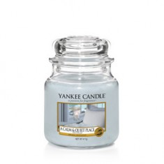 A Calm & Quiet Place - Yankee Candle Medium Jar