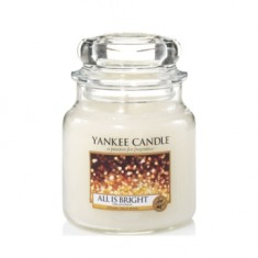 All is Bright - Yankee Candle Medium Jar