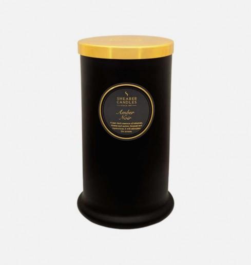 Amber Noir - Tall Pillar Jar Candle