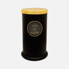 Amber Noir - Tall Pillar Jar Candle