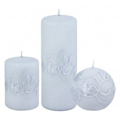 Amelia Grey Candle Collection