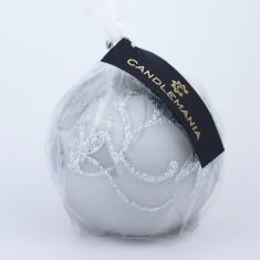 Amelia Grey Sphere Candle