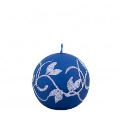 Amelia Navy Sphere Candle