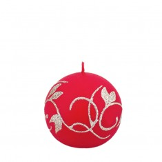 Amelia Red Sphere Candle