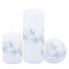 Amelia White Candle Collection