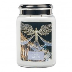 Angel Wings - Village Candle Large Jar