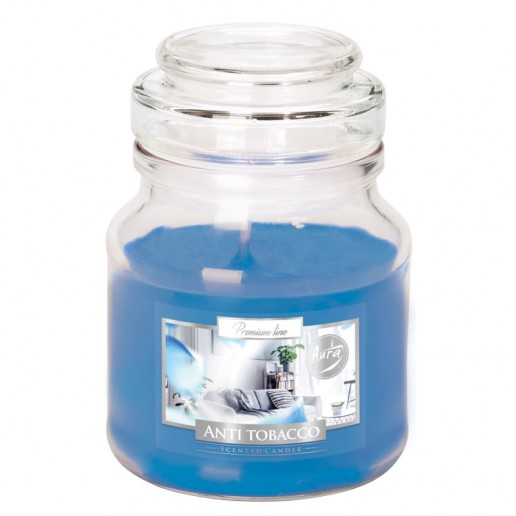 Anti Tobacco - Scented Candle Small Jar Best Smelling Cheap