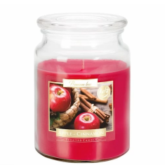 Apple Cinnamon - Scented Candle Large Jar Best Smelling Cheap