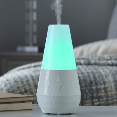 Aroma Diffuser - Made by Zen - Quartz White 1