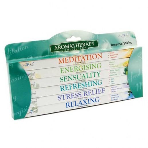 Aromatherapy - Stamford Incense Sticks 6 Pack