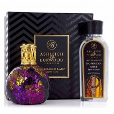 Ashleigh and Burwood Fragrance Lamp Gift Set - Magenta Crush & Moroccan Spice