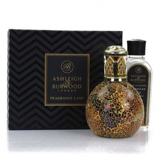Ashleigh and Burwood Fragrance Lamp Gift Let - Egyptian Sunset & Moroccan Spice