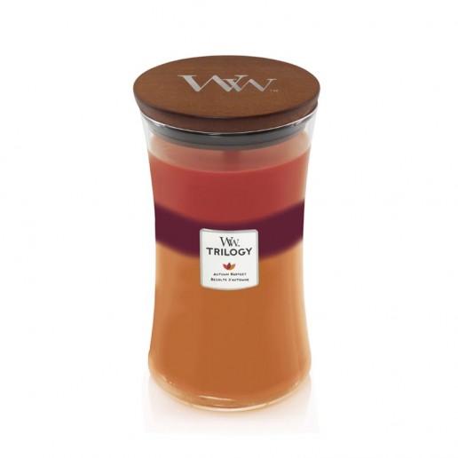 Autumn Harvest - WoodWick Trilogy Large Jar lid