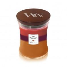 Autumn Harvest - WoodWick Trilogy Medium Jar lid