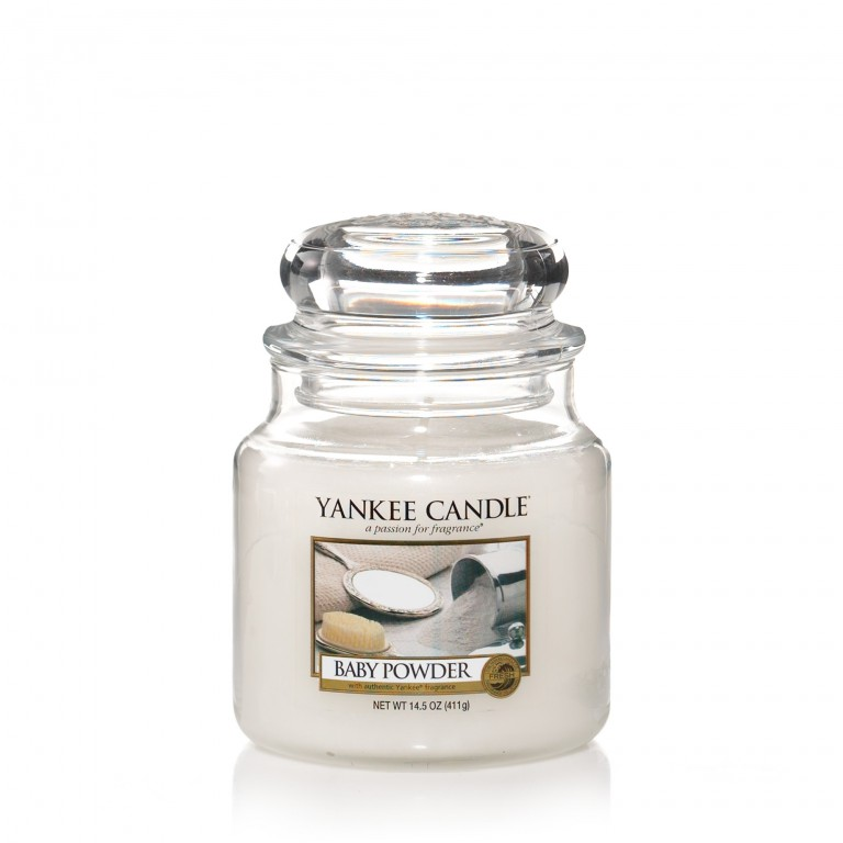 Baby Powder - Yankee Candle Medium Jar