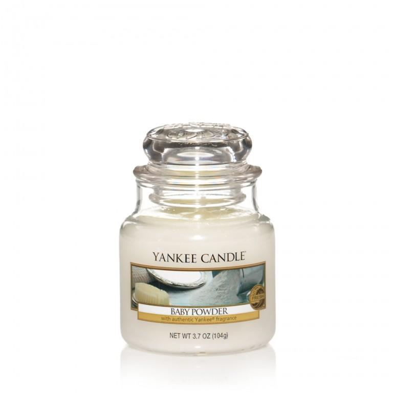 Baby Powder - Yankee Candle Small Jar