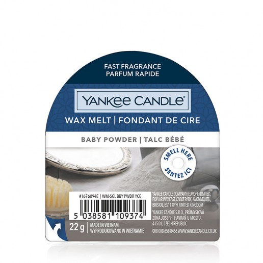 Baby Powder - Yankee Candle Wax Melt