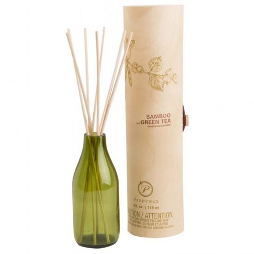 Bamboo and Green Tea - Eco Green Paddywax Reed Diffuser