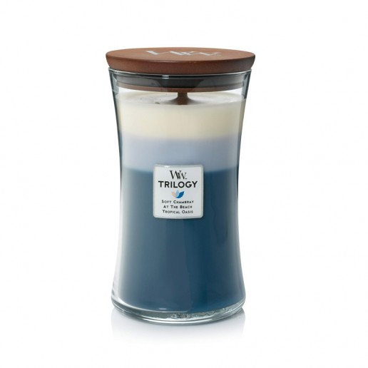 Beachfront Cottage - WoodWick Trilogy Large Jar