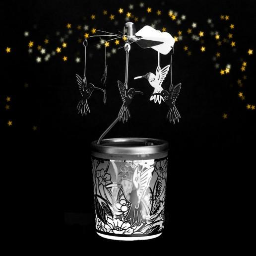Bird - Spinning Tea Light Candle Holder