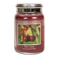 Black Cherry - Village Candle Large Jar