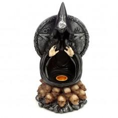 Black Magic Backflow Incense Cone Burner