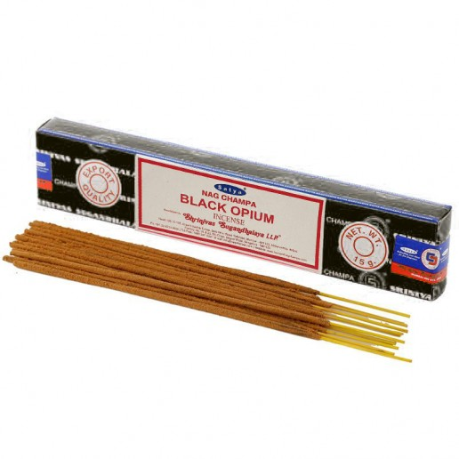 Black Opium - Satya Hand rolled Incense Sticks
