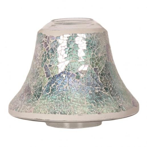Blue Crackle Yankee Candle Jar Lamp Shade