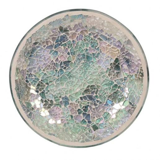 Blue Crackle Yankee Candle Jar Plate