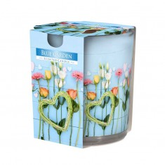 Blue Garden - Scented Candle in Glass