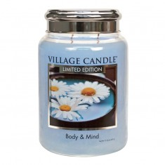 Body & Mind - Village Candle Large Jar