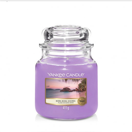 Bora Bora Shores - Yankee Candle Medium Jar