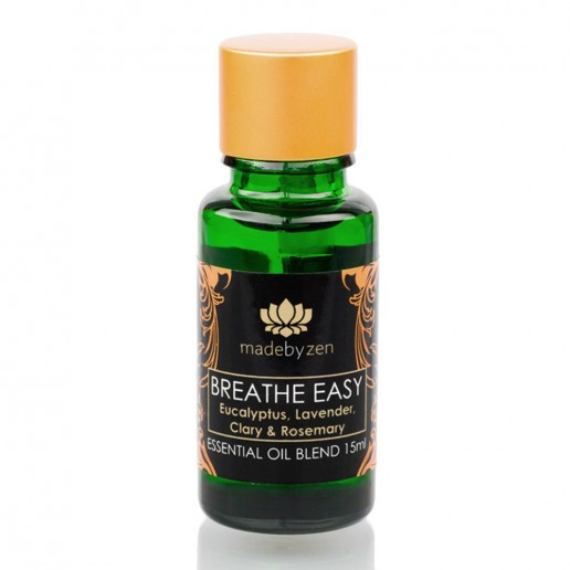 Breathe Easy - Essential Oil Blend Made by Zen