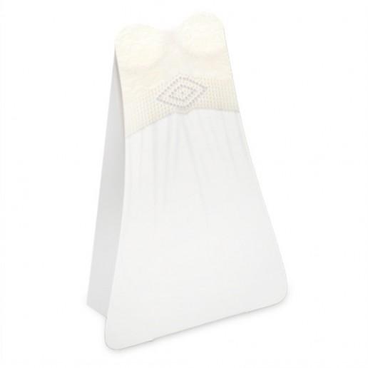Bride Dress Box Ivory Lace with Diamanté